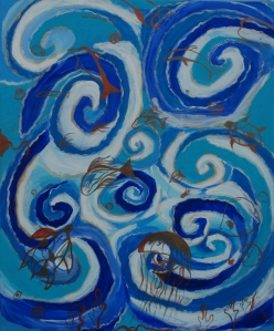 In the deep, blue sea / Nel profondo mare blu: sea creatures and stories in flow