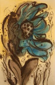 Baby blues: Sunflower series